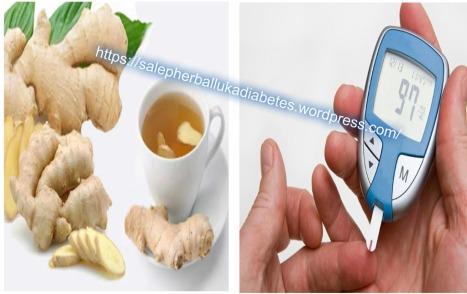 Cara Alami Mengontrol Diabetes Dengan Jahe